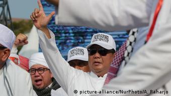 Indonesischer Präsidentschaftskandidat Prabowo Subianto