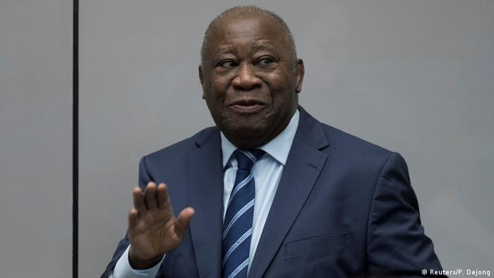 Niederlande Laurent Gbagbo vor dem Internationalen Straferichtshof in Den Haag (Reuters/P. Dejong)
