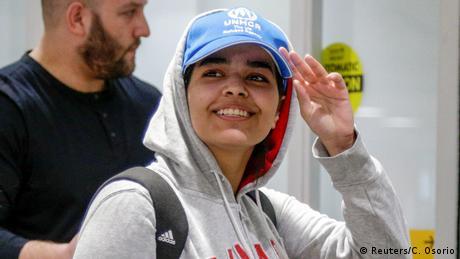 Bildergalerie Rahaf Mohammed al-Qunun (Reuters/C. Osorio)