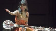 Ravi Shankar's daughter Anoushka at a recent concert in Vancouver