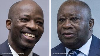 Kombibild - Charles Blé Goudé und Laurent Gbagbo