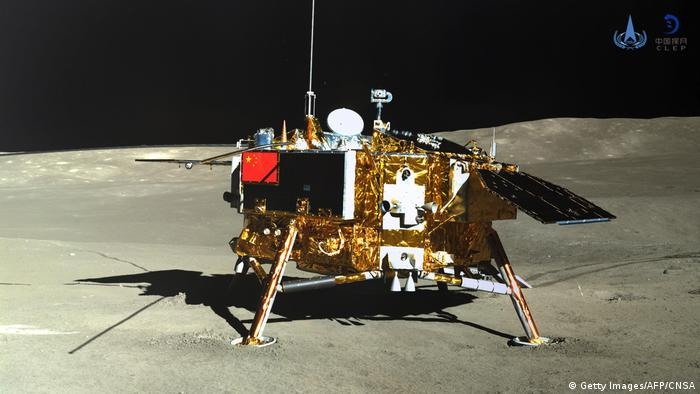 Chang'e-4 lands on the moon