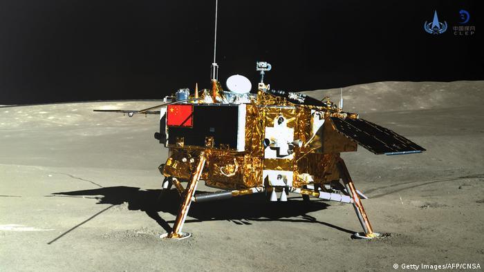 Chang'e-4 auf dem Mond (Getty Images/AFP/CNSA)
