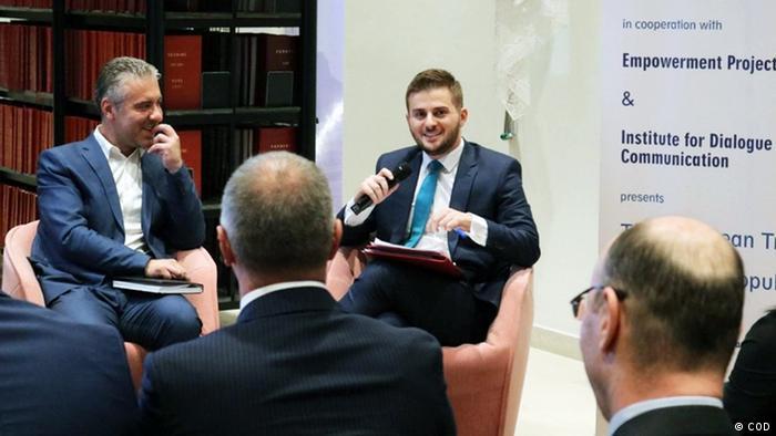 Gent Cakaj albanischer Politiker (COD)