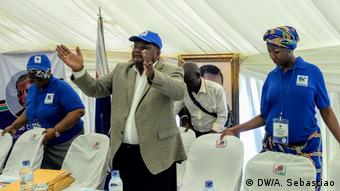 Mosambik Renamo Parteikongress in Gorongosa (DW/A. Sebastiao)