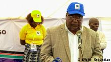 Titel: RENAMO, Mozambique's largest opposition party, holds congress to elect new leader Was zu sehen ist: Ossufo Momade, interim party leader Wann und wo: 15th January 2019, Gorongosa, Mozambique Copyright: Arcénio Sebastião, DW