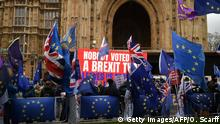 Großbritannien London - Anti-Brexit Proteste