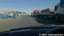Äthiopien Straßenblockade in Methara
