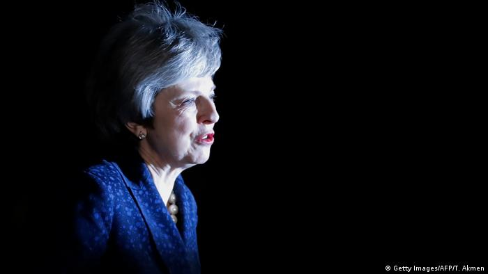Archivbild: Großbritannien - Theresa May (Getty Images/AFP/T. Akmen)