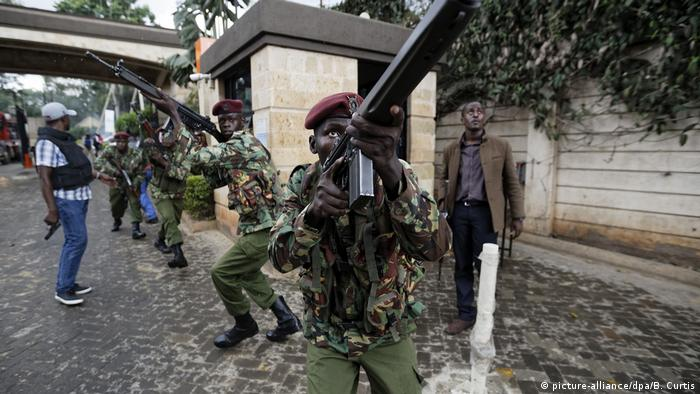 Kenia Angriff auf Hotel in Nairobi (picture-alliance/dpa/B. Curtis)
