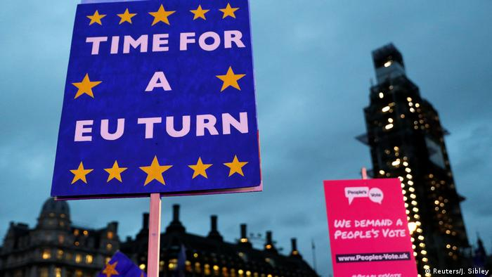 Großbritannien London - Anti-Brexit Proteste