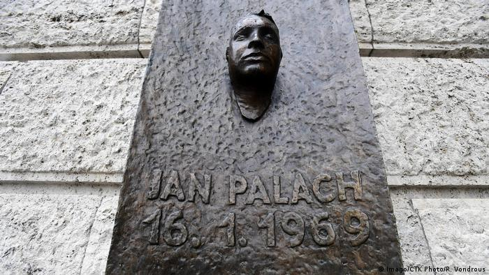 Jan Palach monument