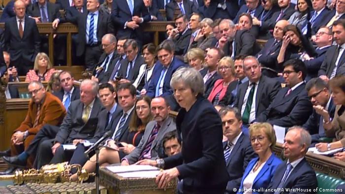 Британський парламент проголосував проти угоди про Brexit