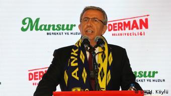 Оппозиционный кандидат в мэры Анкары Мансур Яваш