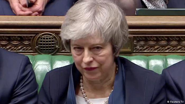 ترزا می پس از شکست طرح برگزیت در پارلمان بریتانیا