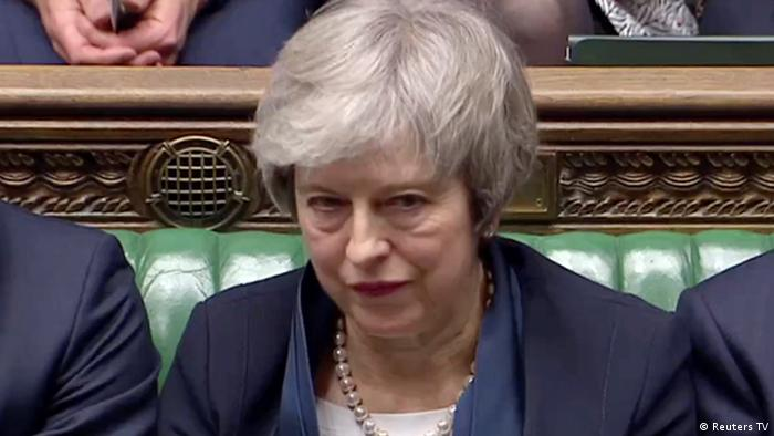 England Brexit Theresa May (Reuters TV)