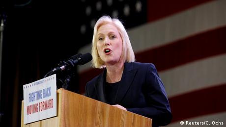 USA New York City   Kirsten Gillibrand, Senatorin der Demokraten (Reuters/C. Ochs)