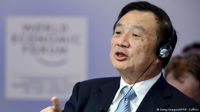 Ren Zhengfei, Präsident Huawei (Getty Images/AFP/F. Coffrini)