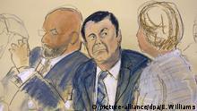 New York Prozess gegen Drogenboss Joaquin «El Chapo» Guzman