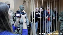 Russland ukrainische Soldaten vor Gericht in Moskau