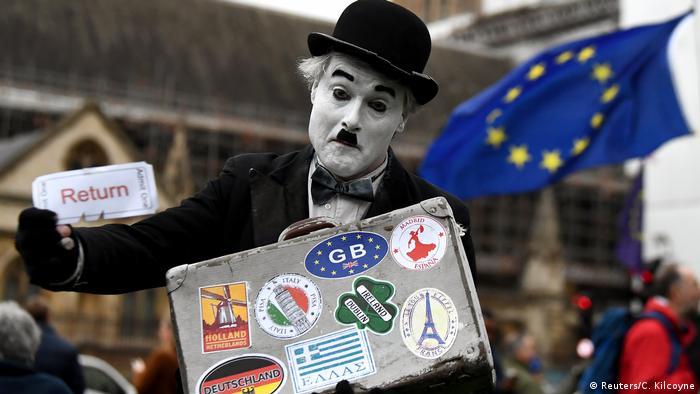 London Brexit Protest Carlie Chaplin