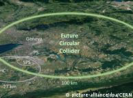 CERN: Beschleunigerring der Superlative geplant