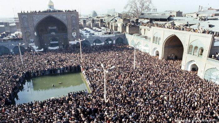 Iran - Massenkundgebung in Teheran (picture-alliance/dpa/EPU)