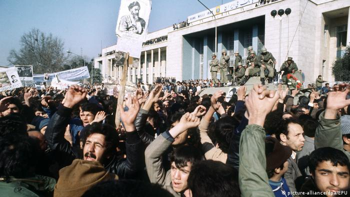 Iran - Freude über Abreise des Schahs