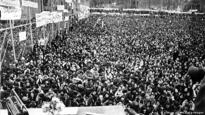 Iranische Revolution 1979 - Demonstration