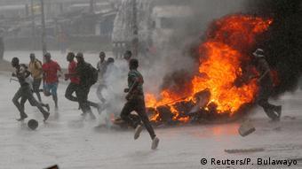 Simbabwe Harare Benzinkrise Ausschreitungen