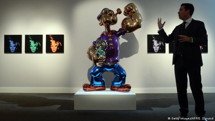 Popeye-Statue von Jeff Koons (Foto: Getty Images)