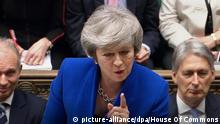 England Brexit Theresa May (picture-alliance/dpa/House Of Commons)