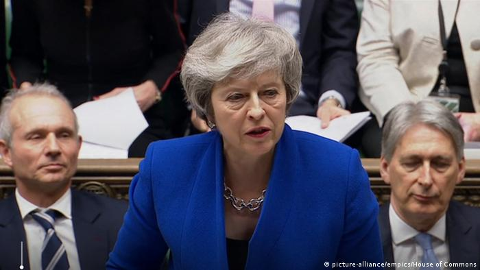 England Brexit Theresa May (picture-alliance/empics/House of Commons)