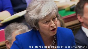Theresa May (picture-alliance/empics/House of Commons)