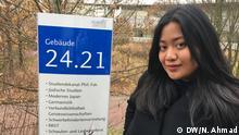 Caesarianda Kusumawati indonesische Studentin in Düsseldorf