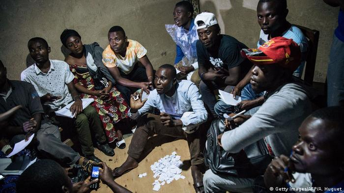 Improvised election in Beni (Getty Images/AFP/A. Huguet)
