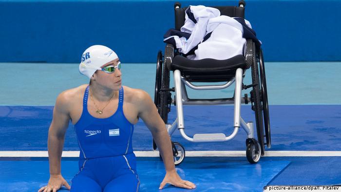 Inbal Pezaro israelische Schwimmerin bei den paralympischen Spielen 2016