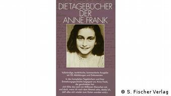 Book cover of Die Tagebücher der Anne Frank (S. Fischer Verlag)