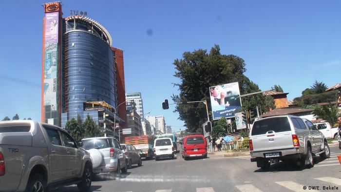 Äthiopien Addis Abeba (DW/E. Bekele)