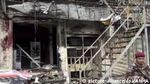 Syrien Selbstmordanschlag in Manbidsch