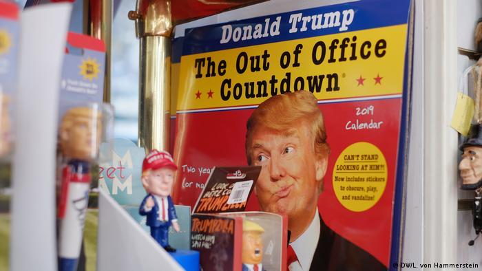 Calendário faz contagem regressiva até fim do mandato de Donald Trump