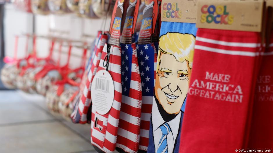 Bildergalerie Trump im Souvenir Shop