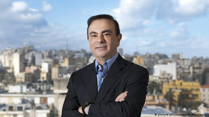 Libanon Carlos Ghosn in Beirut (picture-alliance/dpa/R. Moukarzel )