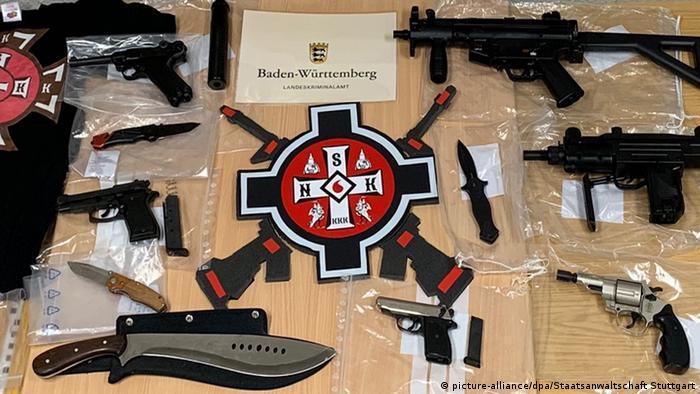 German police raid suspected KKK members' homes