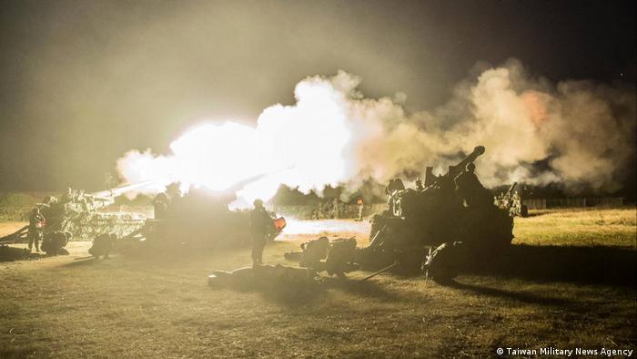 Taiwan Miltärmanöver (Taiwan Military News Agency)