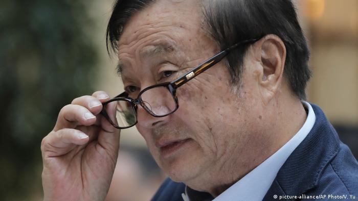 China Shenzhen Ren Zhengfei (picture-alliance/AP Photo/V. Yu)