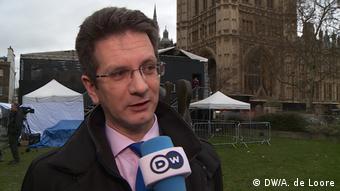 England, London: Steve Baker, konservativer MP
