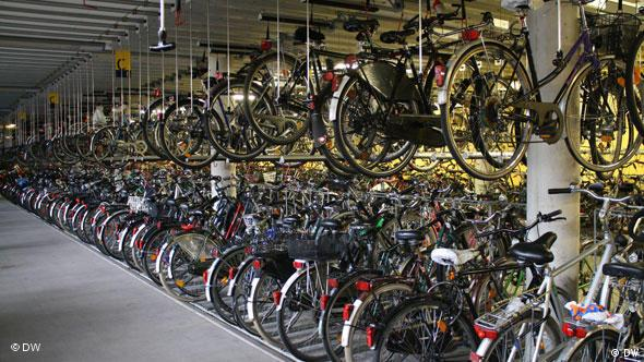 Cycle parking facility