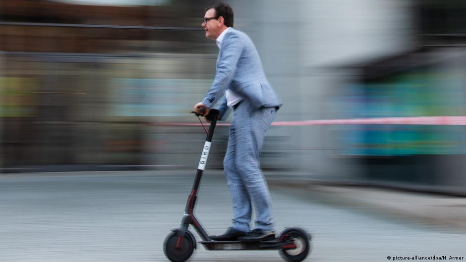 Electric scooters′ rollout off to a bumpy start in Germany