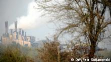03/11/2014 Symbolbild Luftverschmutzung in Skopje, Mazedonien,